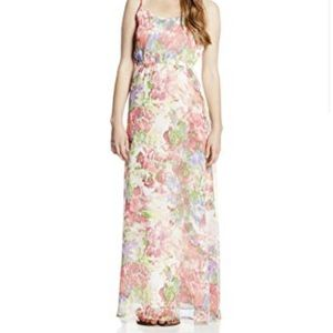 Jack bb Dakota floral strappy maxi dress size 4